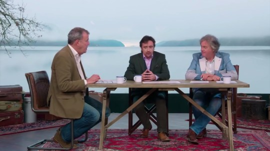 Jeremy Clarkson reunites with Richard Hammond and James May to plan their next Grand Tour adventure
