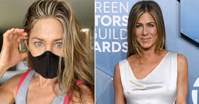 Jennifer Aniston tells you to wear a dang mask already
