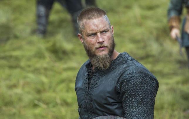 Travis Fimmel as Ragnar in Vikings