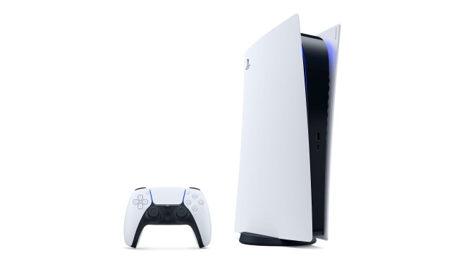 PS5 Digital Edition console