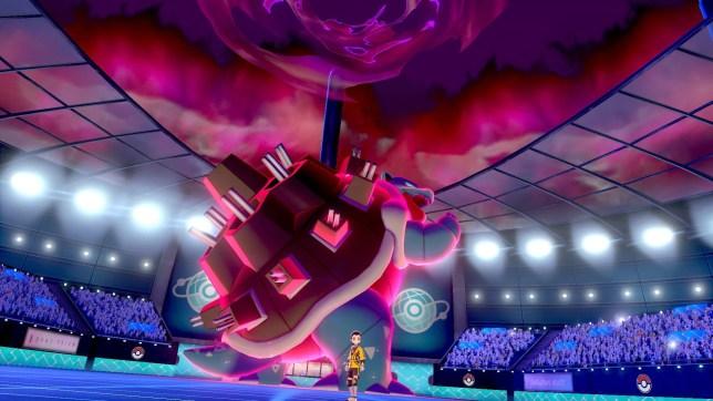 Pokémon Sword/Shield DLC Isle of Armor screenshot