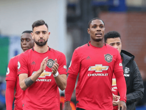 Odion Ighalo fires warning to Man Utd rivals over Bruno Fernandes