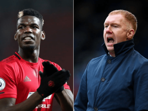 Paul Scholes fires warning to Paul Pogba after Bruno Fernandes arrival