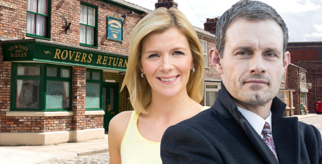 Leanne and Nick in Coronation Street
