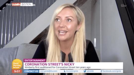Kimberly Hart-Simpson appears on Good Morning Britain