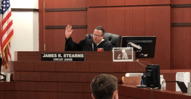 Photo of Judge James Stearns