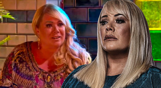 Sharon Watts and Letitia Dean in EastEnders: Secrets From The Square
