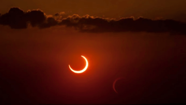 An annular solar eclipse captured in 2012. (Phillip Jones/Stocktrek Images/Getty Images)