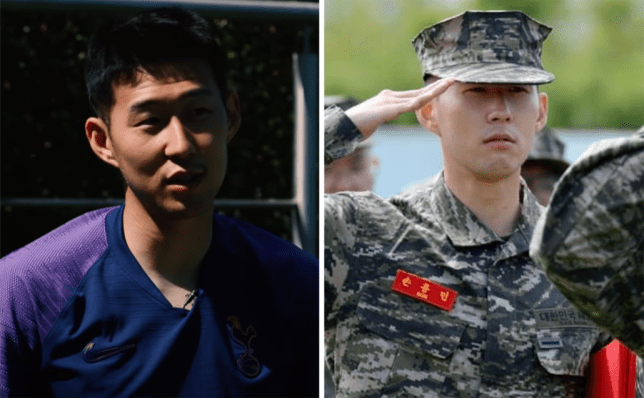 Heung-min Son discusses military service after returning to Tottenham training