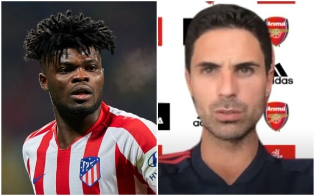 Mikel Arteta admits Arsenal's transfer plans may change after being linked with Atletico Madrid midfielder Thomas Partey