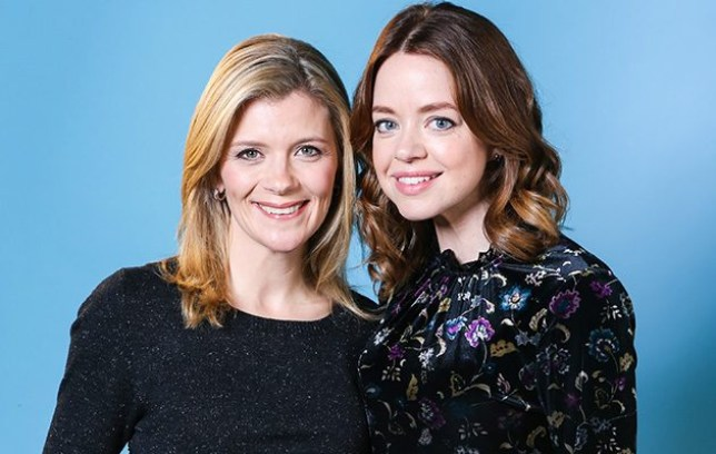 Toyah and Leanne Coronation Street
