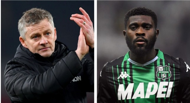 Manchester United are interested in signing former Chelsea midfielder Jeremie Boga