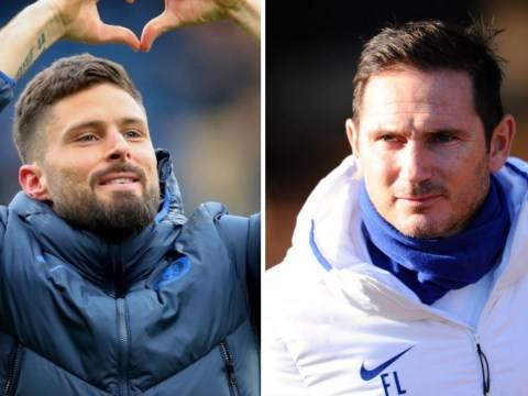 Olivier Giroud sends message to Frank Lampard after signing new Chelsea contract