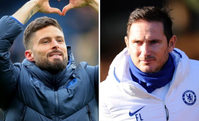 Olivier Giroud has extended his stay at Chelsea