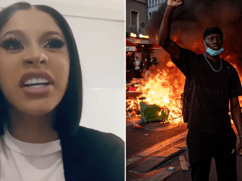 Cardi B wins apology from news anchor who accuses her of 'promoting violence' with looters at protests