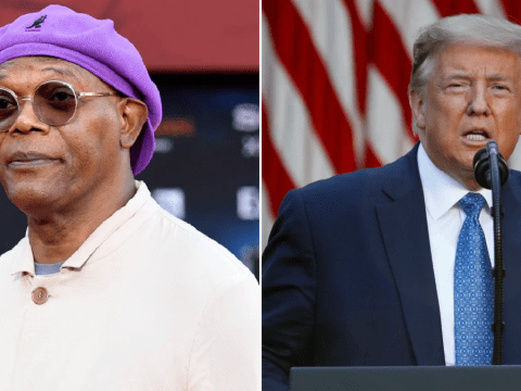 Avengers' Samuel L Jackson rips into Donald Trump for 'hiding' in bunker during Black Lives Matter protests