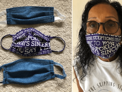 How to make DIY face masks from old jeans and tote bags