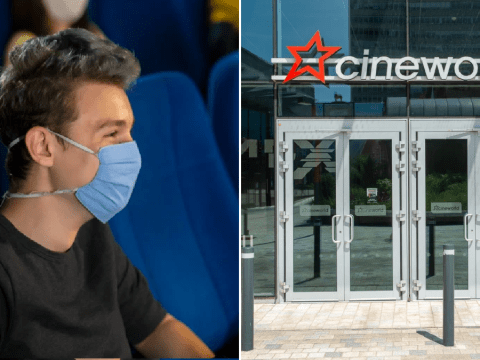 Cineworld staff urge bosses to make face masks mandatory ahead of reopening
