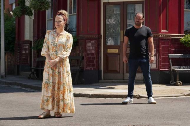 EastEnders' Kellie Bright and Danny Dyer