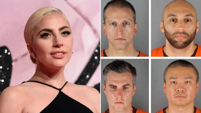 Lady Gaga on George Floyd officers