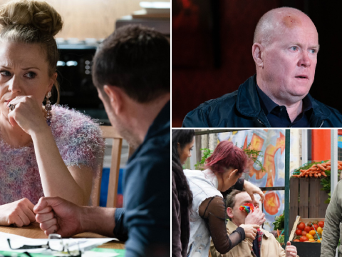 EastEnders spoilers: 23 new images reveal shock Queen Vic showdown and horror violence
