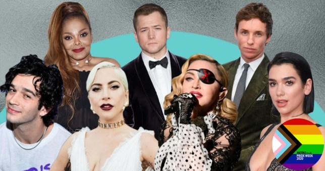 Celebrity LGBTQIA+ allies