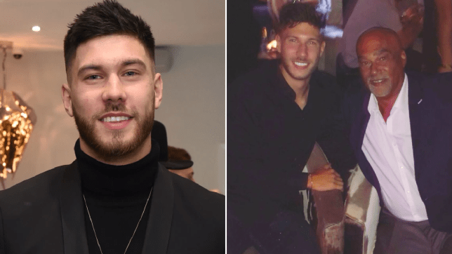 Love Island's Jack Fowler and dad