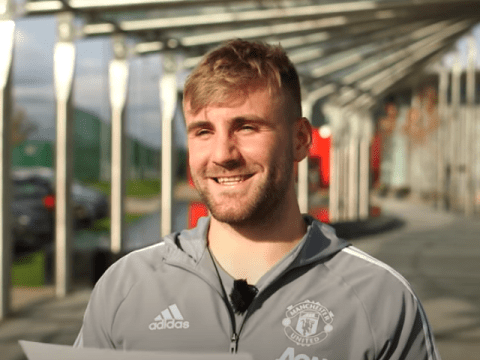 Manchester United defender Luke Shaw names Chelsea and Arsenal legend Ashley Cole as his footballing hero