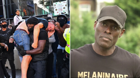 Black Lives Matter activist who rescued injured white man says he just wants equality