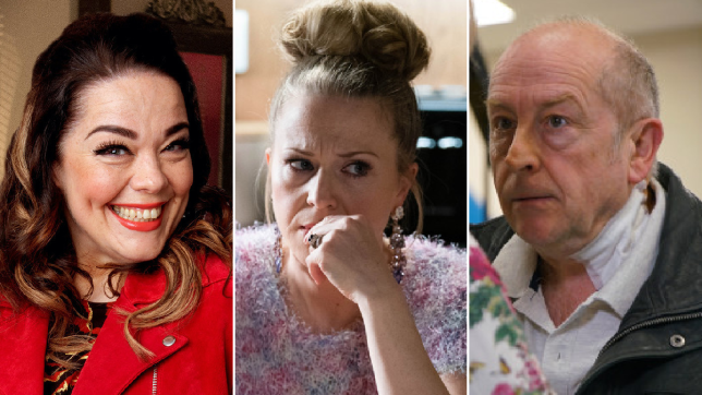 Mandy in Emmerdale, Linda in EastEnders, Geoff in Coronation Street