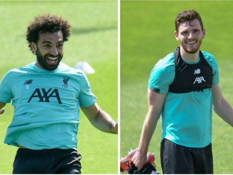 Jurgen Klopp reveals why Mohamed Salah and Andy Robertson couldn't start against Everton