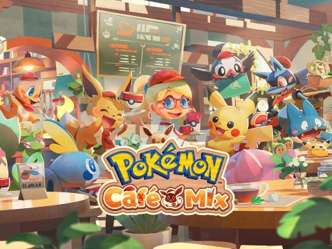 Pokémon Café Mix for Switch now due tomorrow, only playable in handheld mode