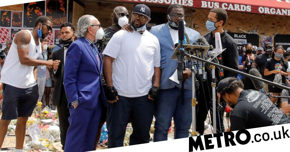 George Floyd's brother asks protesters not to 'tear up your town' - metro