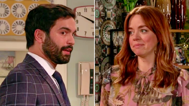 Toyah and Imran in Coronation Street