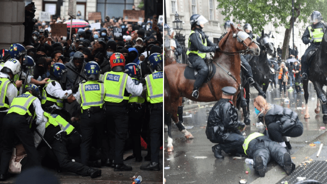 Violent protesters could be jailed within 24 hours of arrest