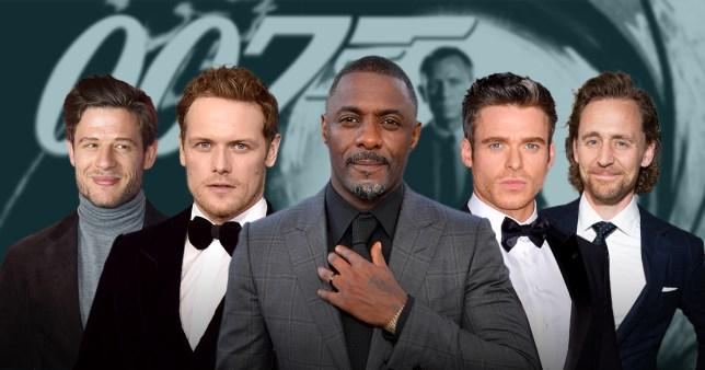 Comp of James Bond contenders