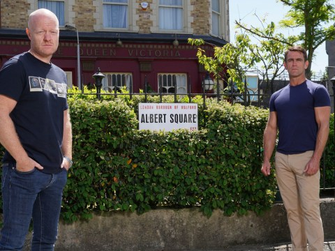 EastEnders stars Jake Wood and Scott Maslen take centre stage in Secrets From The Square tonight