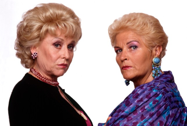 Pat and Peggy in EastEnders