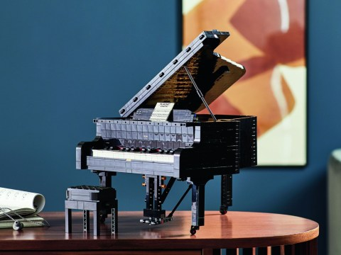 New Lego Ideas set lets you build a whole working piano