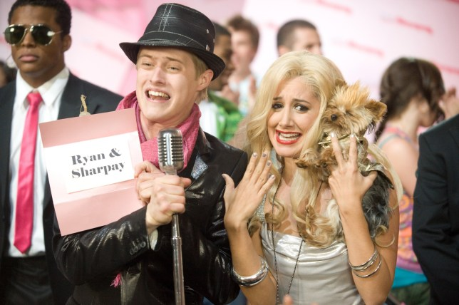 Lucas Grabeel as Ryan with Ashley Tisdale as his twin sister Sharpay