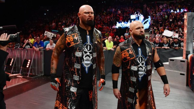 Former WWE - now IMPACT Wrestling - superstars Karl Anderson and Doc Luke Gallows