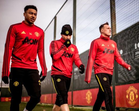 Session de formation de Manchester United