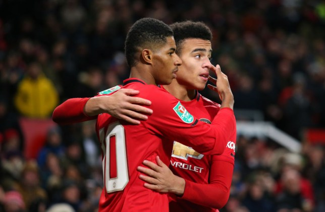 Rashford and Greenwood have formed part of a formidable attack for United