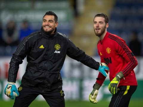 How Sergio Romero responded to Ole Gunnar Solskjaer's refusal to drop David De Gea