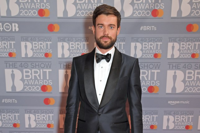 Jack Whitehall attends The BRIT Awards 2020 at The O2 Arena on February 18, 2020.