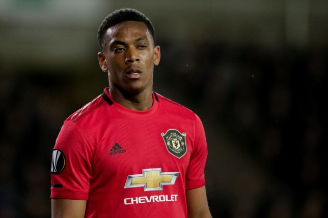 Anthony Martial has thrived in a central role for Manchester United this season