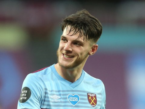 West Ham confident Chelsea won't pay £70m asking price for Declan Rice