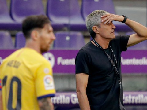 Quique Setien unsure if he will still be Barcelona boss for Champions League after Lionel Messi's explosive interview