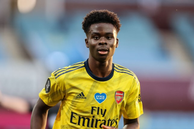 Bukayo Saka has cemented his place in Arsenal first team squad following an outstanding season