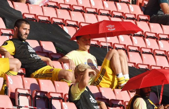 Mesut Ozil during Southampton FC v Arsenal FC - Premier League